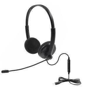 USB Call Center гарнитура с микрофоном с шумоподавлением для PC Home Office Phone Customer Service подключи и играй