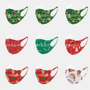 Designer Gesicht Weihnachten MaskPrint S Cotton Weihnachts Masken waschbar atmungsaktiv Staubdichtes Schutz Weihnachten PM2.5 Masken Aktiv Carbo # 135123143666