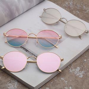 CO Eyeglasses Store Fashionable men's round metal design women's largest back beautiful sunglasses 1916 Festival