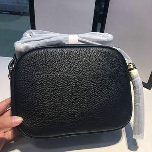308364Top quality womens real leather Tassel camera bag soho bag disco shoulder bag purse crossbody bags Fringed messenger bags 22cm