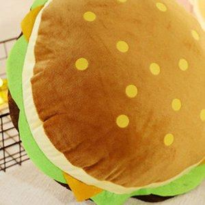 Neue kreative Burger Plüsch weich gepolsterte Plüschkissen Kissen hübsch junge Mädchen Geburtstagsgeschenk Hamburger Kissen / cm WJ