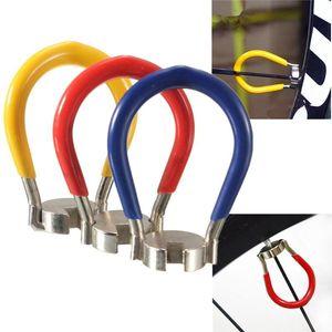 Durable Bicycle Repair Tools 1Pc Portable Mini Bicycle Spoke Key Wheel Spoke Wrench Nipples Bike Cycling Accessories3 Colors