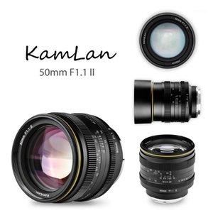 KamLan 50mm f1.1 II APS-C Large Aperture Manual Focus Lens for Mirrorless Cameras Camera Lens for Canon Sony Fuji1