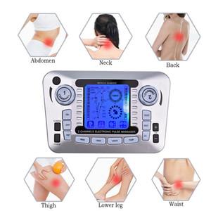 Électrique Nerve Relax Muscle Stimulator Acupuncture Fat Burner Soulagement de la douleur électronique Pulse Massager Des dizaines EMS Slimming Machine