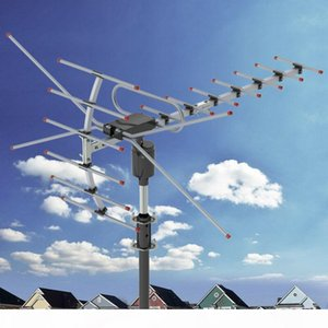 200Miles 1080P Outdoor Amplified HDTV Digital TV Antenna Long Range HD VHF UHF