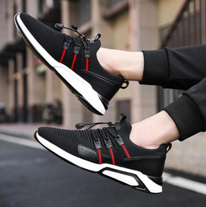 men women casual shoes black white breathable comfortable outdoor shoes mens trainers sports sneakers size 40-44