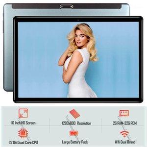 Планшетный ПК 2021 продажи Android 9.0 двойных камеры закаленного стекла 2.5D экран 32 ГБ ROM 1280 * 800 IPS 3G LTE 10 дюймов PC + GIFTS1