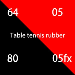 Sale high quality red sponge table tennis rubber for blade ping pong blade table tennis racket ping pong rubber