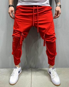 Hit man of 2020 autumn winters is recreational sports pants pants condole personality hip-hop fitness feet mouth movement