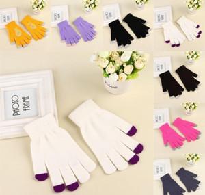 Women's Winter Touchscreen Glove Thermal Magic Gloves Touch Screen Magic Gloves Warm Knitted Full Finger Mittens Fo jllQBI xhlove