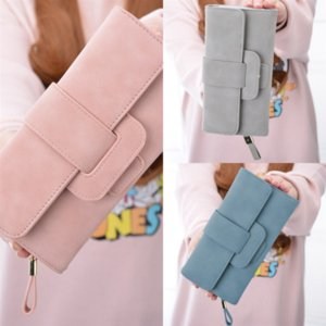 3bY Top quality wallet Long chain Soft on Wallets Bags come Women Card holders Purse Whole fashion Cowskin Genuine leather Leather