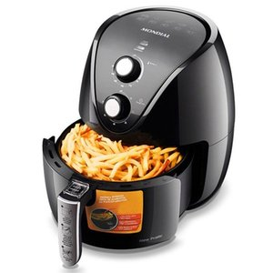 NEW MONDIAL AF-31 Air Fryer Household Oil-Free Electric Fryer Fully Automatic Fries Machine Smart Oven, EU Plug