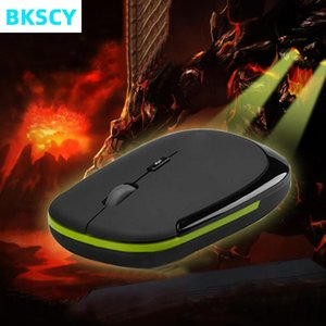 Mice Bkscy Wireless Mouse Mini USB Receiver Optical Right Scroll For Laptop PC Video Gaming Computer