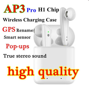 Factory wholesale 3 generations Noise Canceling wireless Bluetooth Headphones Air Pro Air 3 Earphones Renamed GPS Headsets AP3 AP2 pods tws
