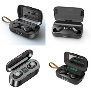 NEW I7 I7S TWS drahtloses Bluetooth Earbuds Zwillings-Kopfhörer-Kopfhörer-Kopfhörer mit Ladegerät Box für Android Samsung Sony Smart Phones MQ10 # 739