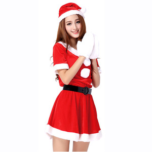 2020 new Christmas costume COSPLAY costume sexy Santa Claus costume woman