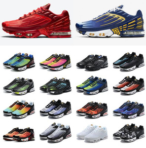 2020 new Tn plus 3 womens mens running shoes NIK tuned tn 3 deep royal red AirMaxAirMax laser blue trainers outdoor sneakers