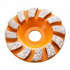 GD30 3 дюйма Бетон шлифовальный круг 4-дюймовый алмазный шлифовальный Кубок колеса Turbo Row Диск для Гранит Мрамор Бетонный 9PCS v9Ow #