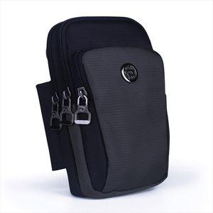 Waterproof Nylon Unisex Belt Waist Fanny Pack Cell Mobile Phone Cover Cigarette Case Purse Hook Men Small Crossbody Shoulder Bag