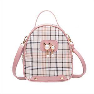 Vento Marea Мини рюкзак Crossbody сумка для девочек-подростков 2020 Plain Малых Женщин плечи Кошелек корейских Нового кабриолет мешок