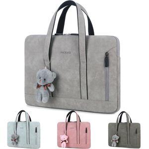 Women Ladies Laptop Tote Bag Handbag Portable Carrying Case for Macbook Air Pro 13 14 15 Hp Dell Huawei