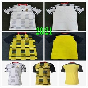 2020 New National Team Ghana Soccer Jerseys J.AYEW THOMAS SCHLUPP KUDUS Caleb Ekuban Owusu Custom 20 21 Home Away Football Shirt Uniform
