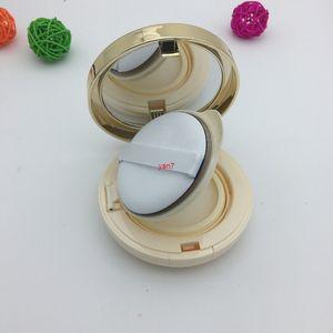 Пустой косметический составной макияж пластиковый DIY BB CC Cream Cream Air Cushion Box контейнеры фундамент покрасневшие бутылки с губкой слойки 2 шт. / Лобудровый Qualtit