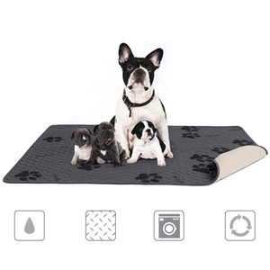 135x100cm Washable Dog Pet Diaper Mat Urine Environment Protect Diaper Mat Waterproof Reusable Training Pad Dog Car Seat Cover
