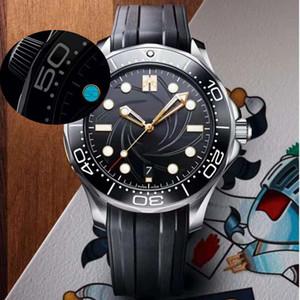 Mens Ceramic Limited Edition 10 Horloge avec 50 mots Mentres Montres Montres Automatiques Montres Mouvement Mouvement Mécanique Bracelet en acier inoxydable mécanique