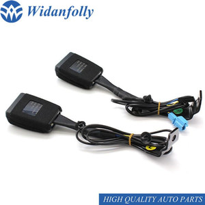 Widanfolly Left   Right Seat Belt Buckle Padding Socket Plug Connector For B7 2012-2020 CC 2010-2020 35D 857 755   756