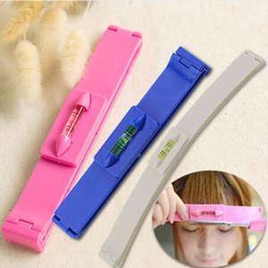 DIY Women Hair Trimmer Fringe Cut Tool Clipper Comb Guide For Cute Hair Bang Level Ruler Hair Accessories