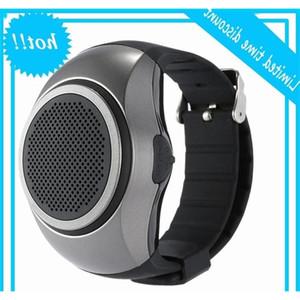 New design Bluetooth Speaker Watch Surper Bass Speakers Wrist Bracelete Support TF Card Built-in Mic Sport Outdoor Hands Free