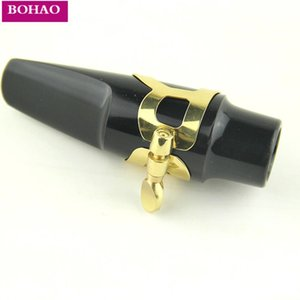 3pcs Sax Bocchino tubo clip bachelite becco di flauto capo del morsetto per l'Alto Saxophone Parts