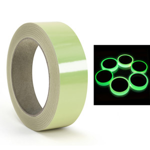 3M Luminous Tape Self-adhesive Tape Packing Stickers Warning Safety Security Home Decoration Warning Adhesive Tape Free DHL