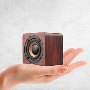 new wireless Super Bass outdoor wooden portable bluetooth speaker newest product 2020 Digital Sound Loudspeaker Handfree MIC For Xiaomi