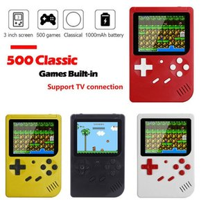 "500 In 1 Games Mini Handheld Game Player Retro Video Console 8 Bit 3.0"" Color LCD Screen TV Console"