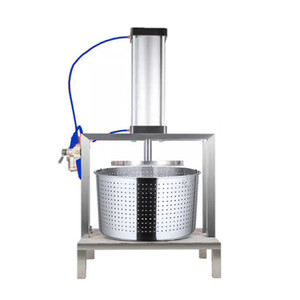 High quality stainless steel juicer electric pneumatic vegetable dehydrator commercial grape juicer dumpling stuffing dehydrator factory pri