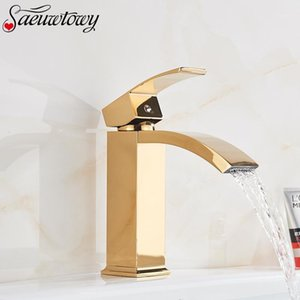 Chrome   Black   Brushed Nickel Gold Brass Hot And Cold Single Hole Basin Sink Lead-Free Brass Bathroom Basin faucet1