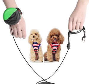 Hand free Automatic Retractable Dog Leash Pet Dog Walking Hand Wrist Leashes Extendable Strong Durable leashes pet Supplies dropGq
