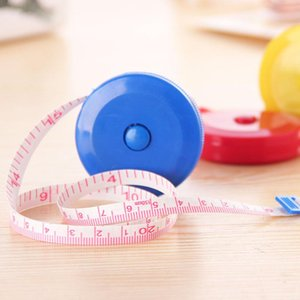Portable Plastic Mini Tape Measure Automatic Retractable Small Soft Ruler 1.5m Small Tape Measure Tailor Tools Etc Random Color