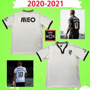 Vitoria Guimaraes Edwards Soccer Jerseys Thox Away 2020 21 Vitória SC Quaresma A.andré Lyle Foster Auattara Noah Bruno Duarte Football Commet