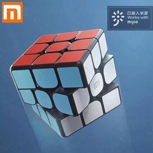 Оригинальные Xiaomi Bluetooth Smart Magic Cube Smart Gateway Mijia App Linkage 3x3x3 Smart Cube Puzzle Toy Gifts Science Education Y200428