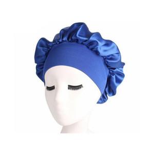 Women Bonnet Chemo Cap Designer Durag Hats Durags Muslim Satin Breathable Bandana Sleeping Turban Hat Womens Headwrap wmtZKD queen66