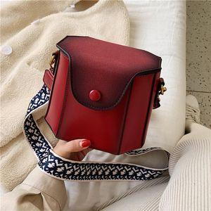 Sacos para mulheres bolsas femininas saco de balde hexagonal feminino scrub arte minimalista retro um bolsa de ombro banda larga stiletto pequeno