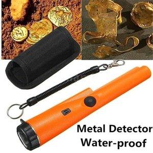 Canpointing Metal детектор детектор портативного зонда металлоискатель света статическая тревога указатель безопасности инструмент инструмента с браслетом1