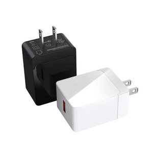 Quick Qualcomm fast charge 3.0 Wall charger 5V 18W PSE CB ETL KC CE FCC USB travel Phone Charger