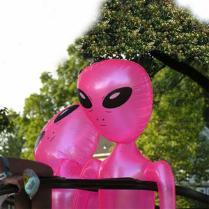 Alien Inflate Green Pink Blue Purple Inflatable 3 Feet 4.4 Feet Blow Up Party Photo Prop Halloween Party and Event Decoration 201128
