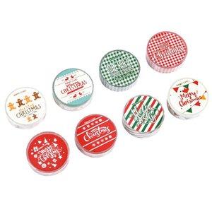 Tian Zi Christmas Paper Tape Snowflake Reindeer Stripes Kawaii Masking Tape Sticker Stationery Scrapbook School Supplies wmtEzP comb2010