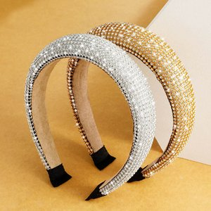 New Arrival Extreme Luxury Women Shining Headband Full Cover Micro Artificial Crystal Glisten Hairband Beautiful Girls Headbands