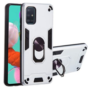 With Finger Ring kickstand Shockproof Protective armor Phone Case For Samsung Galaxy A11 A21 A31 A41 A51 A71 A81 A91 A70E Cover